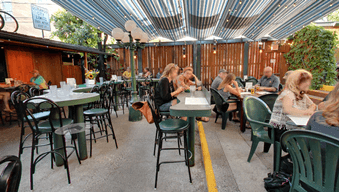 Carver Brewing Company Beer Garden and Dining Patio