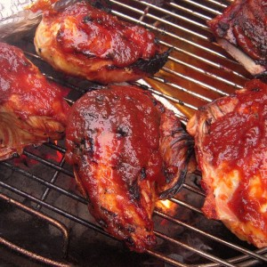 Carolina BBQ Grilled Chicken