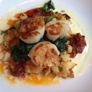Scallops & Prosciutto Vegetable Hash