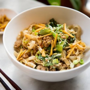 Spicy Ginger Pork Noodles